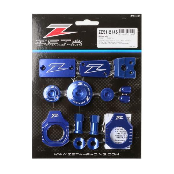 DIRTFREAK ZE51-2146 ZETA ビレットキット KX250F'17-,450F'16- BLUE