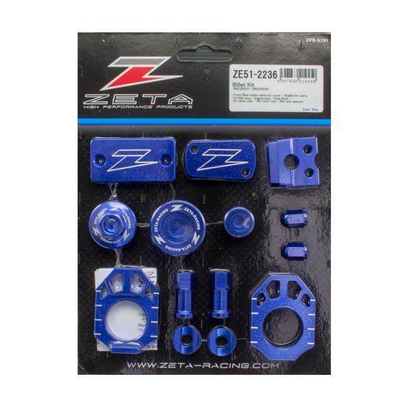 DIRTFREAK ZE51-2236 ZETA ビレットキット RMZ250'07-,RMZ450'05- BLUE