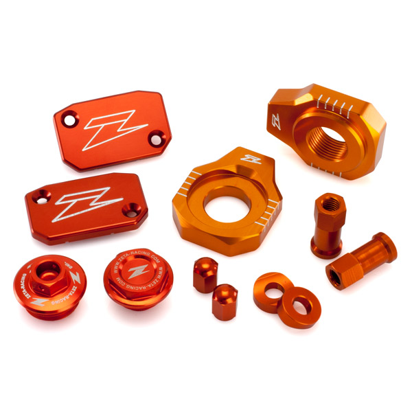 DIRTFREAK 【WEB価格】ZE51-2433 ZETA ビレットキット KTM SXF/XCF-'12 ORANGE