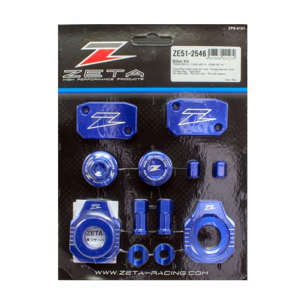 DIRTFREAK 【WEB価格】ZE51-2546 ZETA ビレットキット HQV.250/350,FC250-450,FE250-501 BLUE