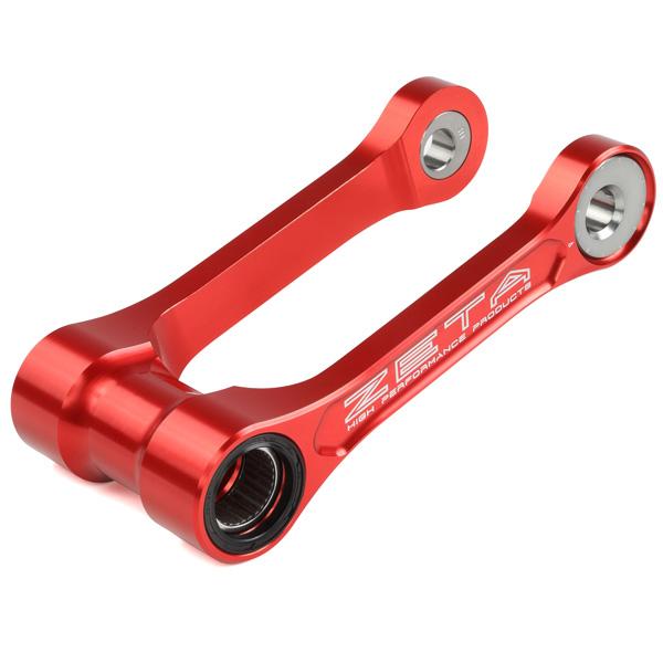 DIRTFREAK 【WEB価格】ZE56-01062 ZETA RSL アジャスタブル RED CRF250X'07-