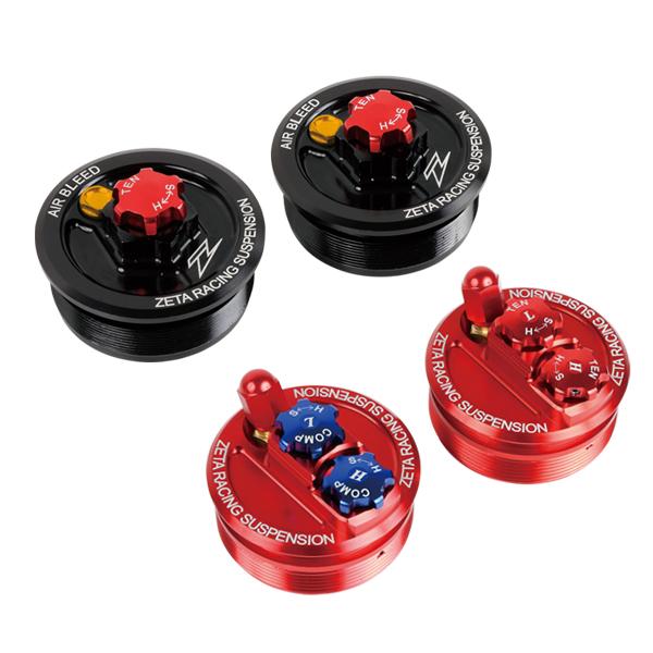 DIRTFREAK 【WEB価格】ZE56-10112 ZETA FFトップキャップ RED KYB XR250,KLX250,KDX250