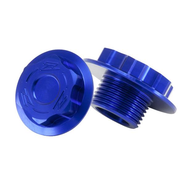 DIRTFREAK ZE58-2812 ZETA ステアリングステムボルト HQV. BLUE M20-27 P1.5 L=11.5