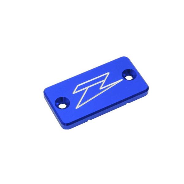 DIRTFREAK 【WEB価格】ZE86-2101 ZETA リザーバカバー BLU RM/YZ/KXフロント DRZリヤB