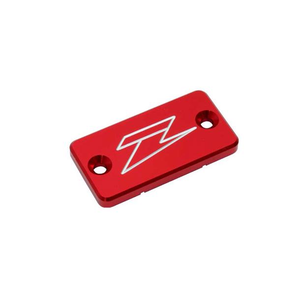 DIRTFREAK 【WEB価格】ZE86-2103 ZETA リザーバカバー RED RM/YZ/KXフロント DRZリヤB