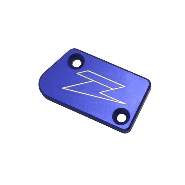 DIRTFREAK 【WEB価格】ZE86-2301 ZETA リザーバカバー BLU YZ250F'07-フロントB