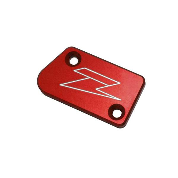 DIRTFREAK 【WEB価格】ZE86-2303 ZETA リザーバカバー RED YZ250F'07-フロントB