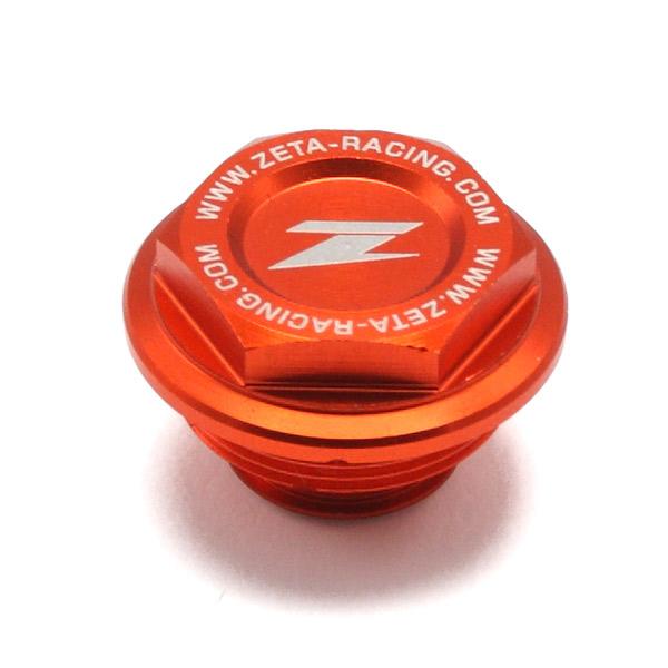 DIRTFREAK 【WEB価格】ZE86-7110 ZETA リザーバカバー ORG ブレンボリヤB KTM/HQV.