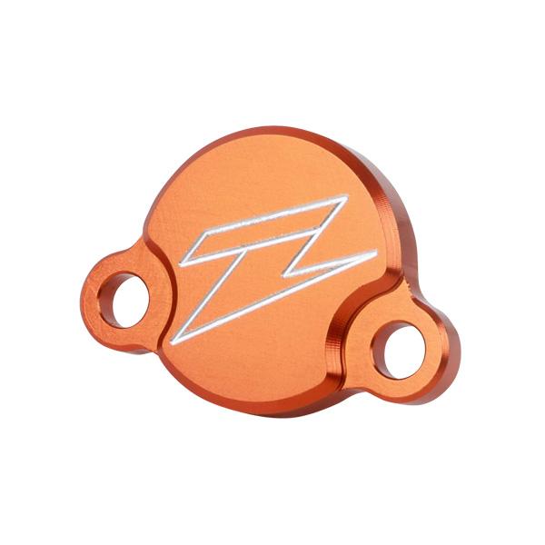 DIRTFREAK 【WEB価格】ZE86-7210 ZETA リザーバカバー ORG KTM65/85SX,フリーライド リヤB