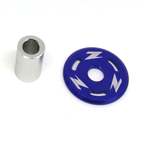 DIRTFREAK 【WEB価格】ZE88-0004 ZETA タンクホールドワッシャー CR/CRF,YZF'10- BLU