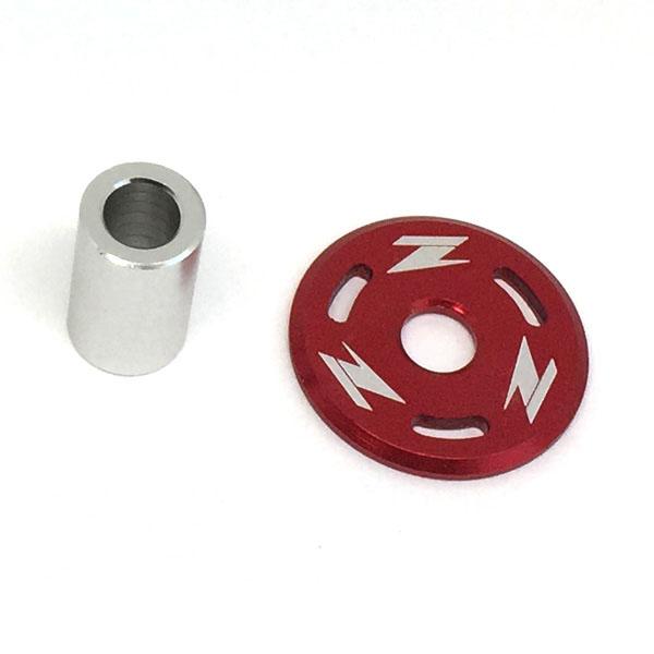DIRTFREAK 【WEB価格】ZE88-0005 ZETA タンクホールドワッシャー CR/CRF,YZF'10- RED