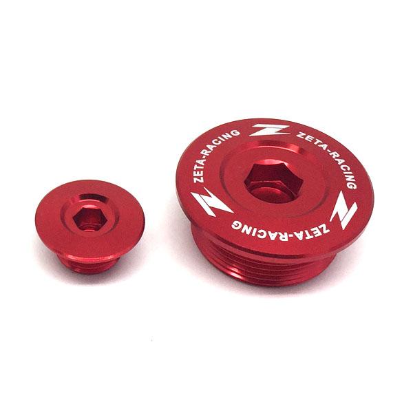 DIRTFREAK ZE89-1150 ZETA エンジンプラグ RED CRF250L,CC110,Monkey125