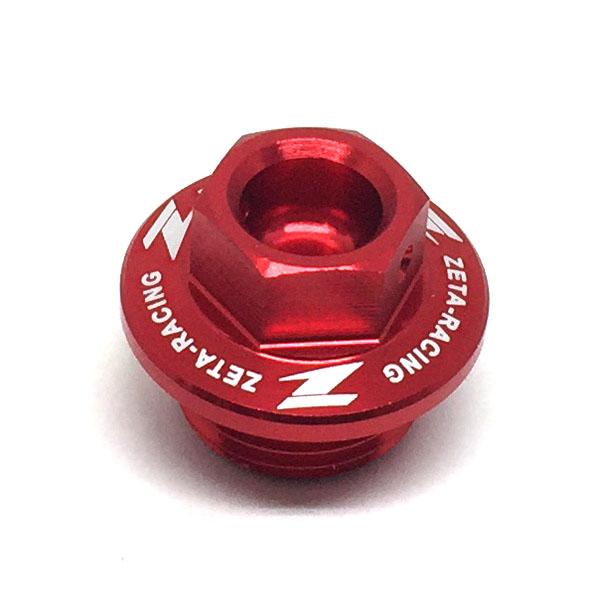 DIRTFREAK ZE89-2310 ZETA オイルフィラーキャップ カワサキ RED