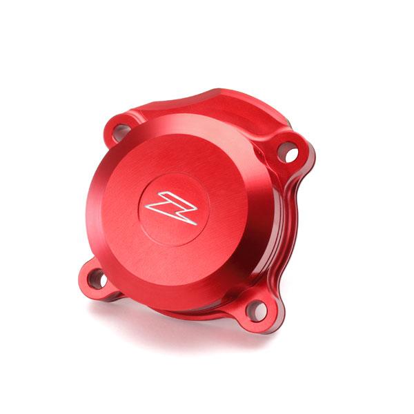 DIRTFREAK ZE90-1023 ZETA オイルフィルターカバー CRF250L RED