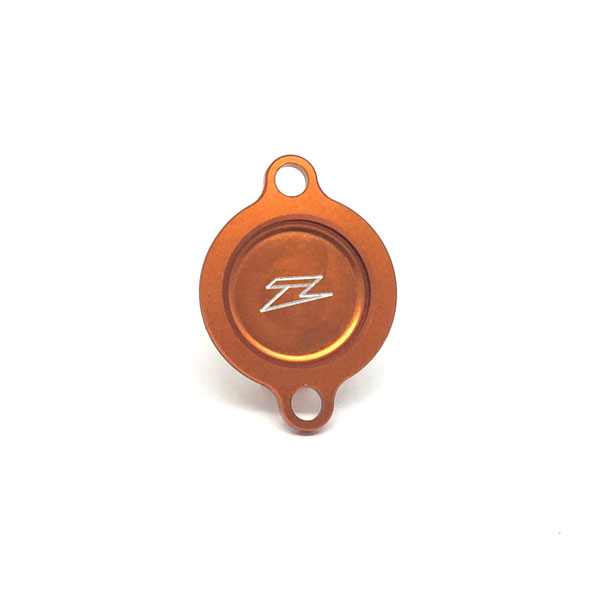 DIRTFREAK 【WEB価格】ZE90-1447 ZETA オイルフィルターカバー KTM450/505EXC/SX'07-12 ORANGE