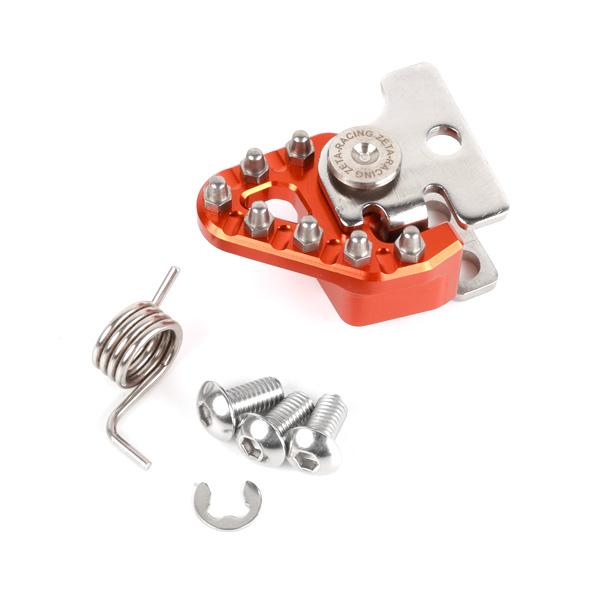 DIRTFREAK 【WEB価格】ZE90-7903 ZETA ブレーキペダル リプレースチップセット ORANGE