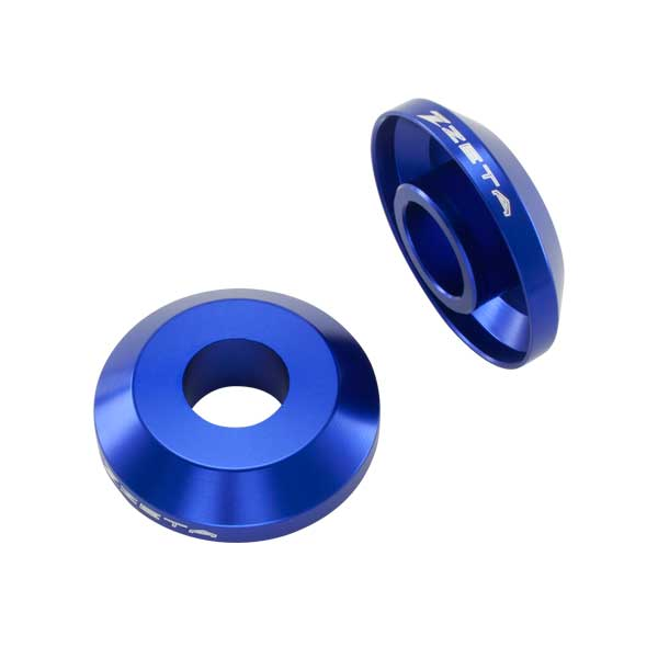 DIRTFREAK ZE93-2416 ZETA ファスト リヤホイールスペーサー WR250/450F '05- BLUE