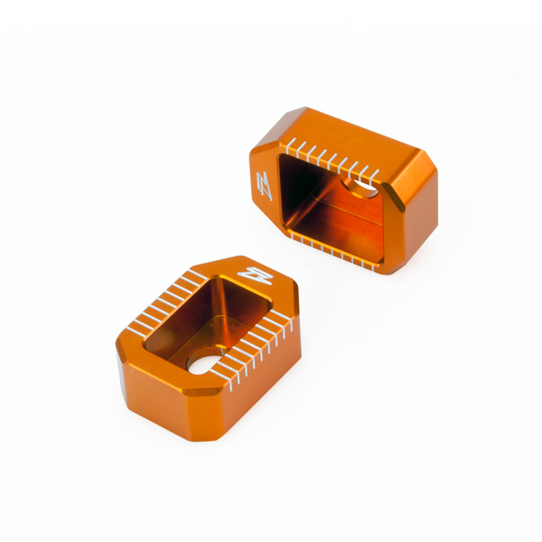DIRTFREAK 【WEB価格】ZE93-5437 ZETA リヤアクスルブロック KTM 65SX-'15 ORANGE