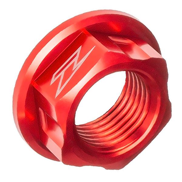 DIRTFREAK ZE93-8012 ZETA アクスル用 ナット M16x22-P1.5 H11 RED