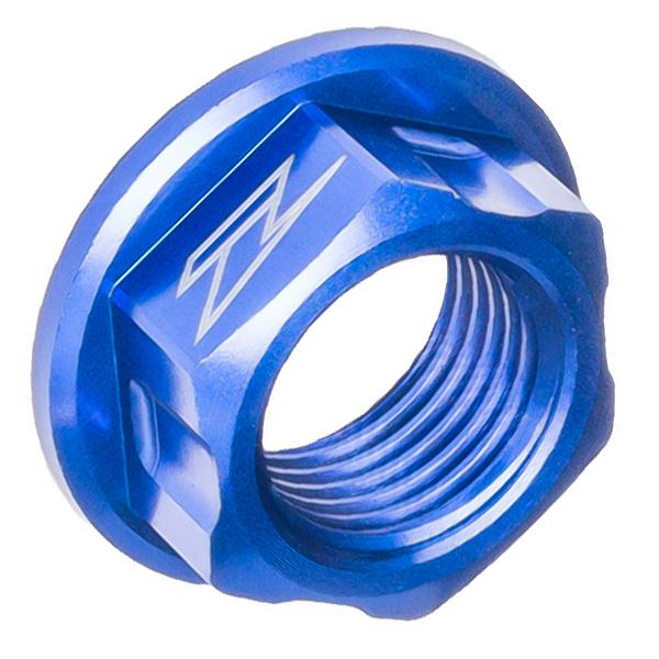 DIRTFREAK ZE93-8016 ZETA アクスル用 ナット M16x22-P1.5 H11 BLUE