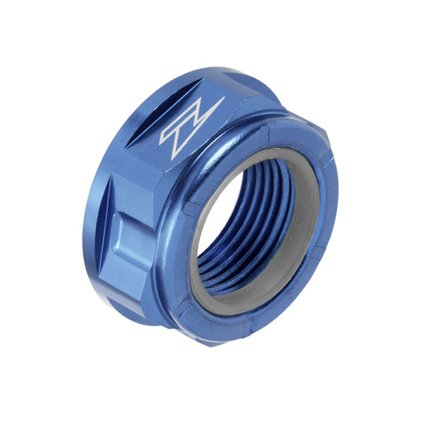 DIRTFREAK ZE93-8049 ZETA アクスル用 ナット M20x30-P1.5 H13L H-BLUE