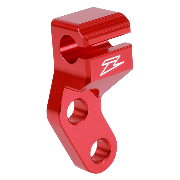 DIRTFREAK ZE94-0381 ZETA クラッチケーブルガイド KLX250/D-Tracker '98- RED