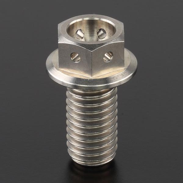 DIRTFREAK ZT04-0816 Z-チタン フランジボルト ワイヤリング M8 P1.25 16mm