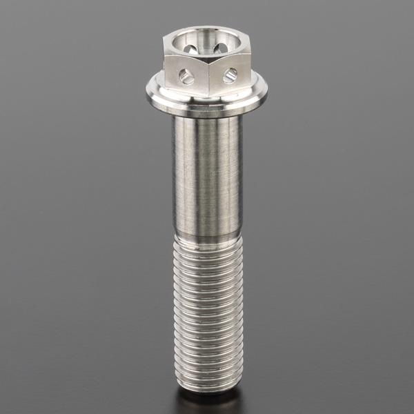 DIRTFREAK ZT04-1045 Z-チタン フランジボルト ワイヤリング M10 P1.25 45mm