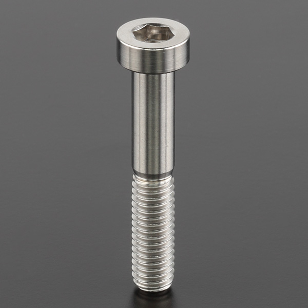 DIRTFREAK ZT07-2635 Z-チタン キャップスクリュー M6 P1.0 Lowヘッド 35mm