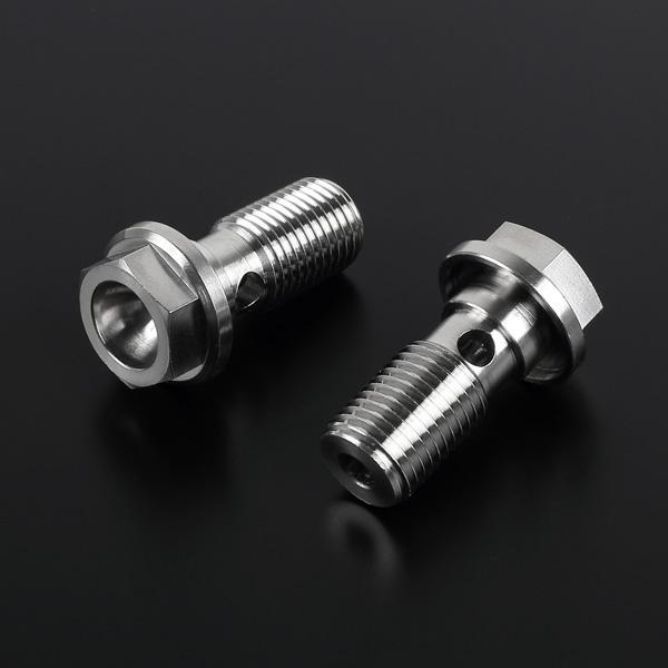 DIRTFREAK 【WEB価格】ZT15-5330 Z-チタン エンジンプラグ each KAW. フランジヘッド M14 オイルラインツキ
