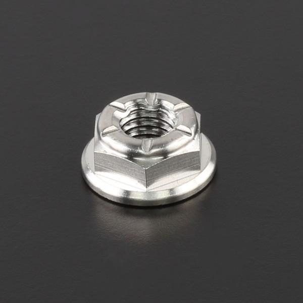 DIRTFREAK 【WEB価格】ZT21-1061 Z-チタン ナット M6 P1.0 1pc フランジ ロックナット
