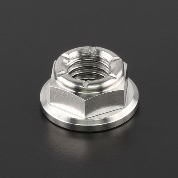 DIRTFREAK ZT21-1081 Z-チタン ナット M8 P1.25 1pc フランジ ロックナット