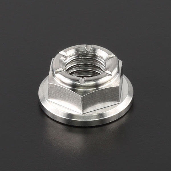 DIRTFREAK 【WEB価格】ZT21-1081 Z-チタン ナット M8 P1.25 1pc フランジ ロックナット