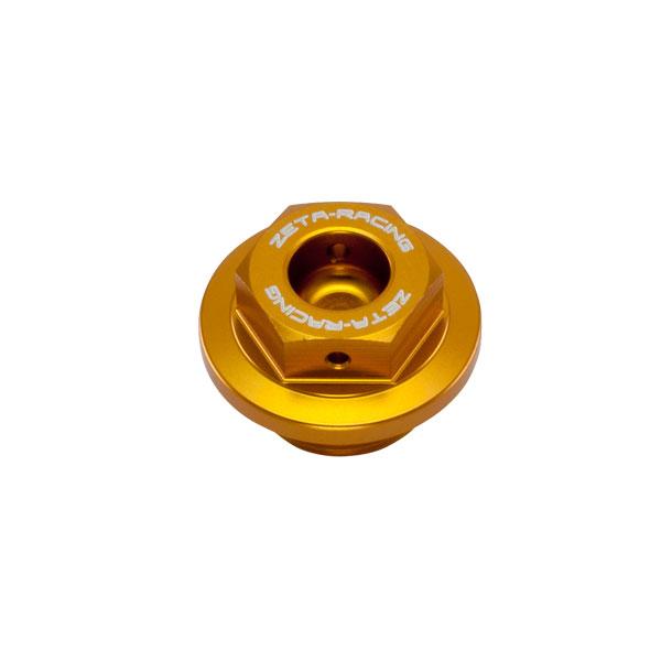 DIRTFREAK 【WEB価格】ZS89-2304 ZETA オイルフィラーキャップ S M20-P1.5 ゴールド
