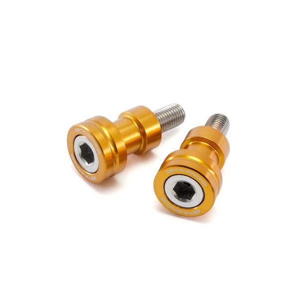 DIRTFREAK 【WEB価格】ZS93-1204 ZETA スイングアームスプール M10 K ゴールド
