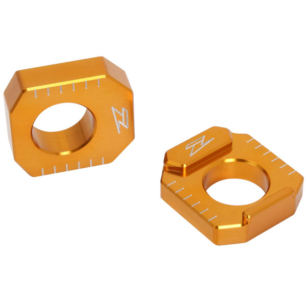 DIRTFREAK 【WEB価格】ZS93-2104 ZETA リヤアクスルブロック HONDA GOLD