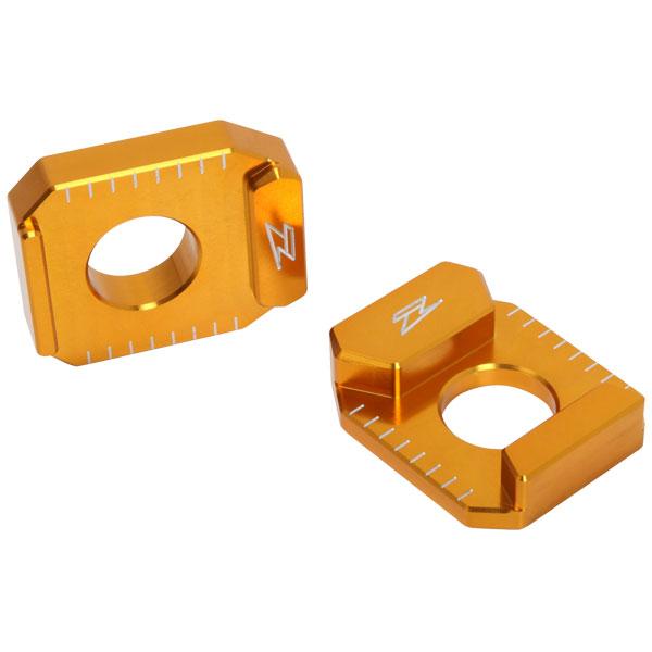DIRTFREAK 【WEB価格】ZS93-2304 ZETA リヤアクスルブロック SUZUKI-1 GOLD