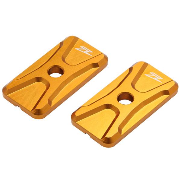 DIRTFREAK 【WEB価格】ZS93-3104 ZETA チェーンアジャスターキャップ CBR250R/NINJYA250 GOLD