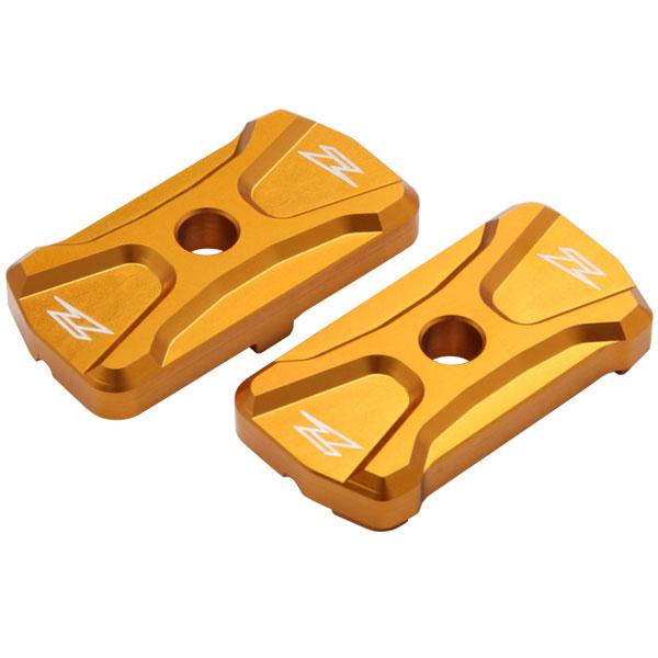 DIRTFREAK 【WEB価格】ZS93-3404 ZETA チェーンアジャスターキャップ YZF-R25/3 GOLD