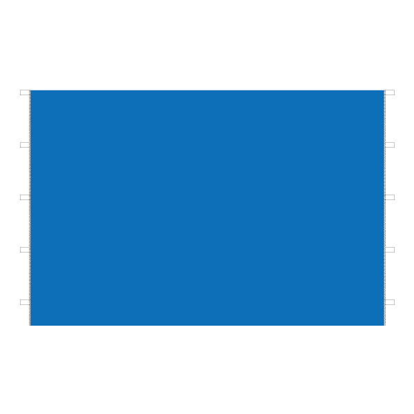 DIRTFREAK 【WEB価格】UN29-1132  UNIT キャノピー サイドパネル ブルー 3m