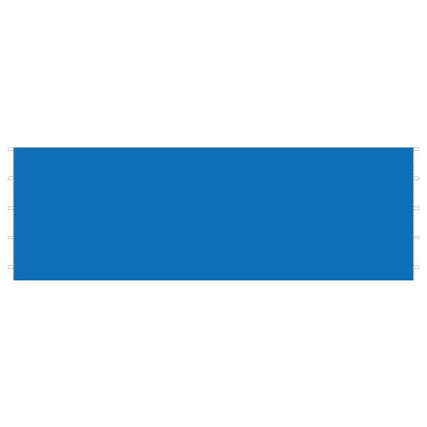 DIRTFREAK 【WEB価格】UN29-1162 UNIT キャノピー サイドパネル ブルー 6m