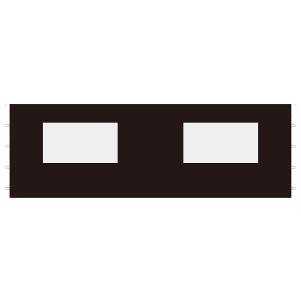 DIRTFREAK 【WEB価格】UN29-1261 UNIT キャノピー サイドパネル ウインドウ ブラック 6m