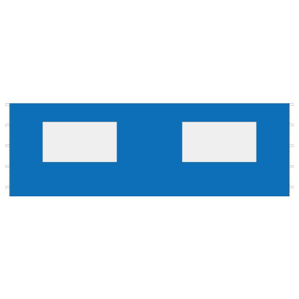 DIRTFREAK 【WEB価格】UN29-1262 UNIT キャノピー サイドパネル ウインドウ ブルー 6m