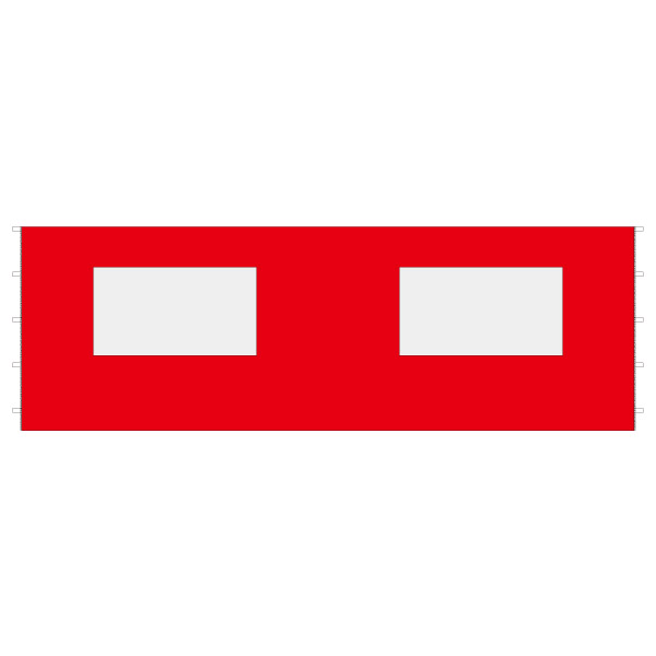 DIRTFREAK 【WEB価格】UN29-1263 UNIT キャノピー サイドパネル ウインドウ レッド 6m
