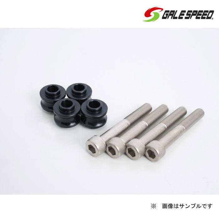 GALE SPEED 29000195B オフセットカラー 3.5mm BLK & クロモリキャップボルト CBR1000RR 08-16
