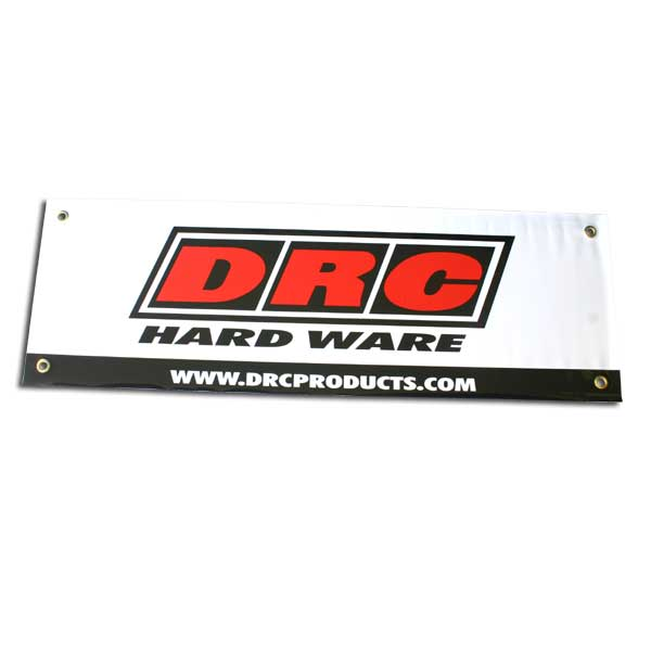 DIRTFREAK D39-01-101 DRC バナー WHITE 90x290cm