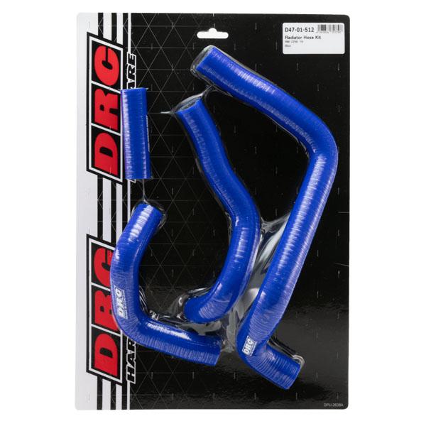 DIRTFREAK 【WEB価格】D47-01-512 DRC ラジエターホースキット(S) RMZ250'19- BLUE