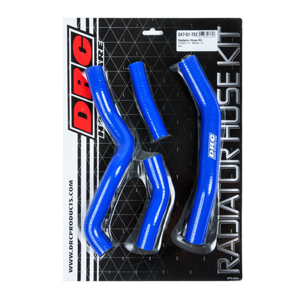 DIRTFREAK 【WEB価格】D47-01-752 DRC ラジエターホースキット(Y) YZ250FX'15-,WR250F'15- BLUE