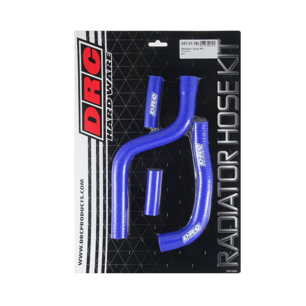 DIRTFREAK 【WEB価格】D47-01-782 DRC ラジエターホースキット(Y) YZ125'05- BLUE