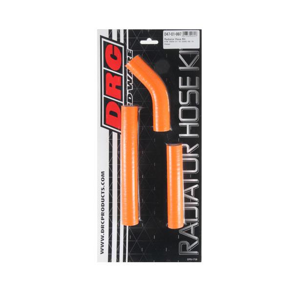 DIRTFREAK 【WEB価格】D47-01-997 DRC ラジエターホースキット KTM 250SX'07-10,HQV.XC'09-10 ORANGE